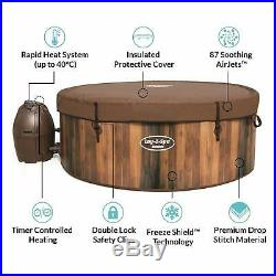 Lay-Z-Spa Helsinki Hot Tub, AirJet Inflatable Spa, 5-7 Person
