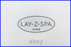 Lay-Z-Spa Paris Luxury 4-6 Person Massage Inflatable Hot Tub with LED Lights