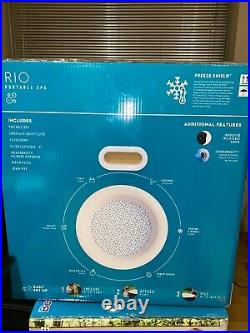 Lay Z Spa RIO 4-6 Person Inflatable Hot Tub 2021 WARRANTY INCLUDED