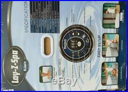 Lay Z Spa St Lucia 3-4 Person Hot Tub Jacuzzi Inflatable Lazy Spa BRAND NEW