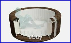 Lay Z Spa St Moritz 7 Person Inflatable Hot Tub 2021 Model FAST P&P