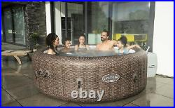 Lay-Z-Spa St Mortiz AirJet 7 Person Inflatable Hot Tub 2021 800+ Reviews