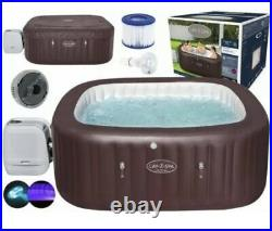 Lay z spa maldives Hydrojet 7 Person Inflatable Hot Tub 2021 Version