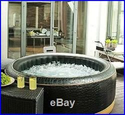 MSPA EXOTIC Family Inflatable Hot Tub Portable Spa Jacuzzi 4 Person Home Holiday
