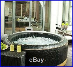 MSPA EXOTIC Family Inflatable Hot Tub Portable Spa Jacuzzi 6 Person Home Holiday