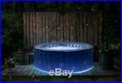 MSpa 4 Person Hot Tub GARDEN patio outdoor Quick Heating Inflatable Spa Jacuzzi