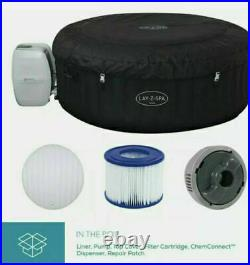 NEW Lay-Z-Spa Miami 2-4 Person Inflatable Hot Tub 2021 Model FREE Delivery
