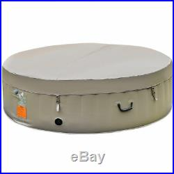 New Portable Inflatable Hot Tub Outdoor Jacuzzi Jets Bubble Massage Spa 6 Person