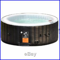 Portable Inflatable Spa Bubble Massage Hot Tub 4 Person Pamper Relaxation Patio