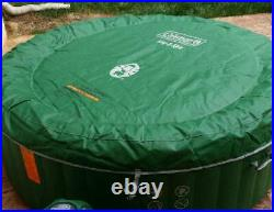 Spa AirJet Inflatable Hot Tub Spa 4-6 person Coleman Saluspa Heavy Duty Jacuzzi