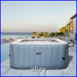 Wave Luxury Inflatable Hot Tub Pool Spa Massage Outdoor Jacuzzi (2-4 Person)